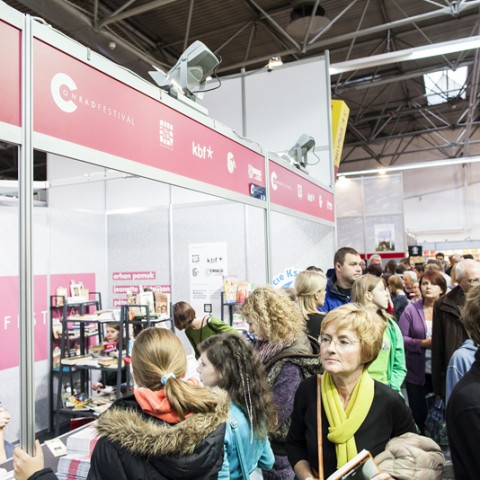 Book Fair in Krakow, pic. Michał Ramus, www.michalramus.com