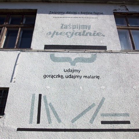 The Composition of Poetry: Krakow-Reykjavik mural, pic. Tomasz Wiech